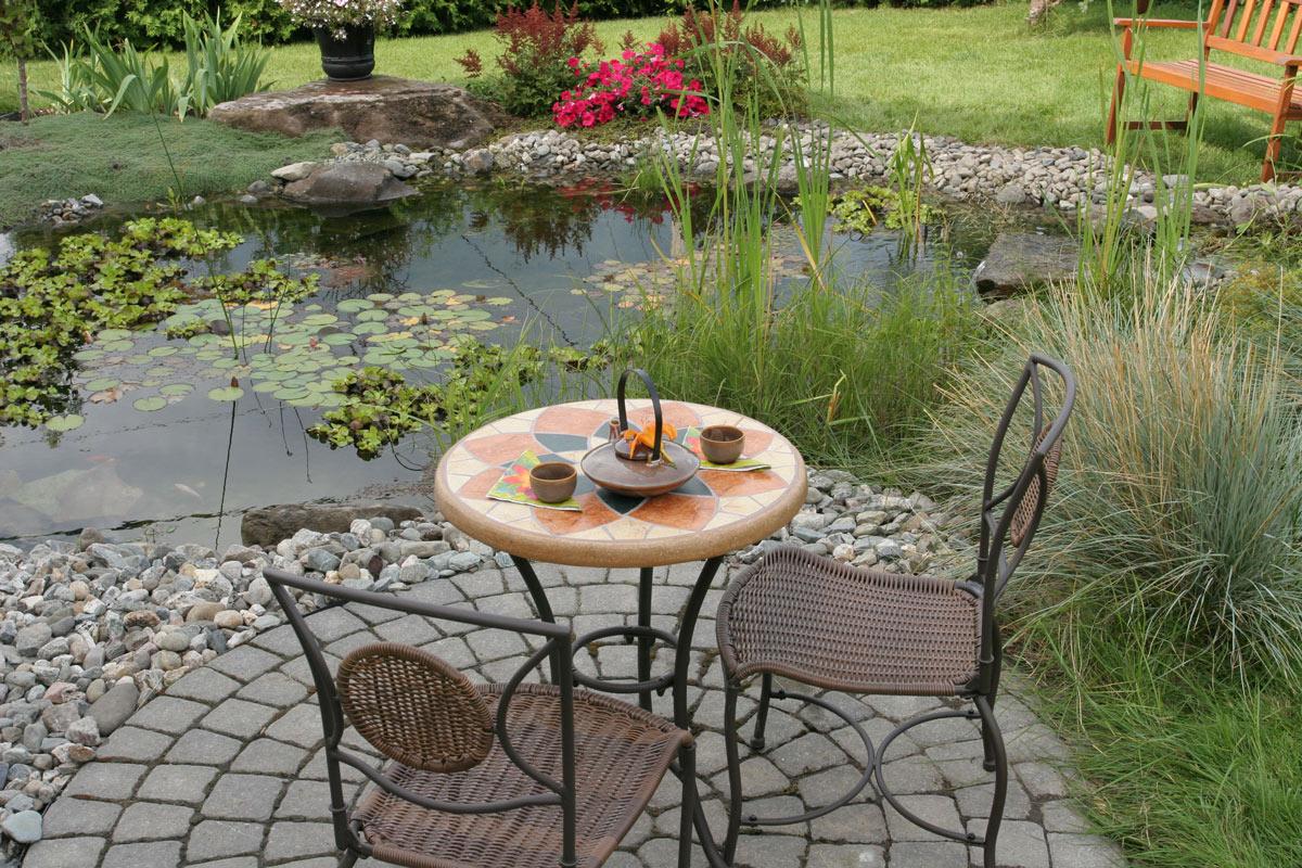 table bistro paysagement lévis