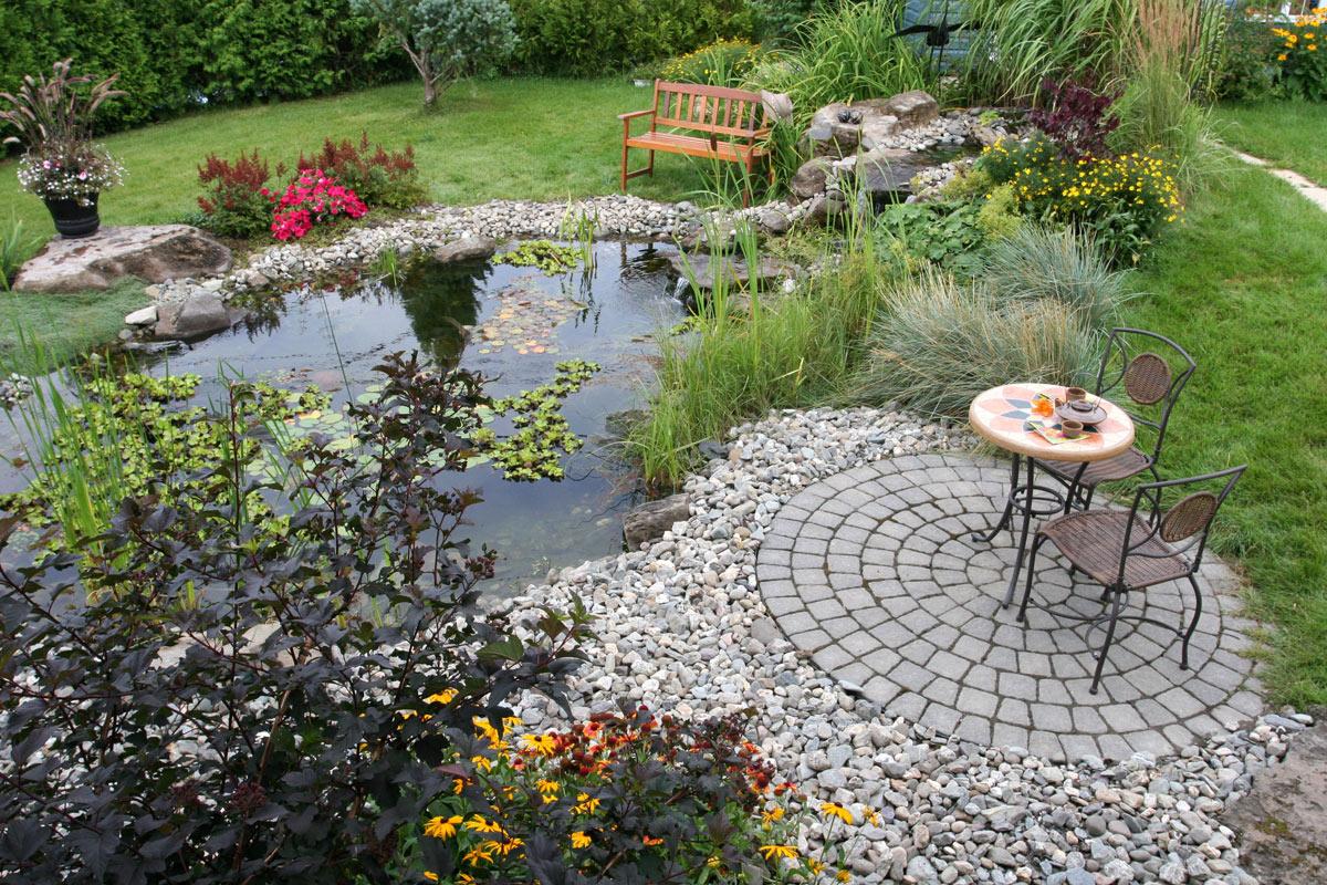jardin d'eau design québec