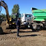 Équipement d'excavation Paysagiste Bergeron Lévis